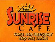 Sunrise Cafe Logo