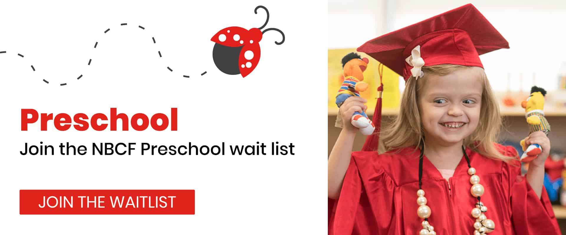 Get on the Nevada Blind Children's Foundation Preschool Waitlist!